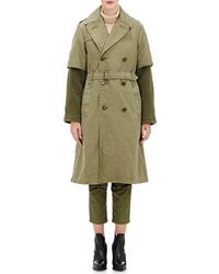 NLST - Layered Trench Coat - Lyst