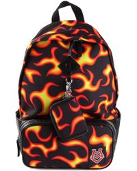 Moschino Flame Print Backpack - Lyst