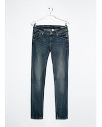 Mango Push-Up Uptown Jeans - Lyst