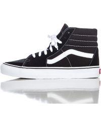 Vans | Sk8-hi In Black/white | Lyst