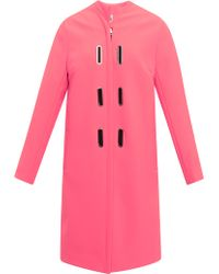 Opening Ceremony Rory Coated Neoprene Aline Coat - Lyst