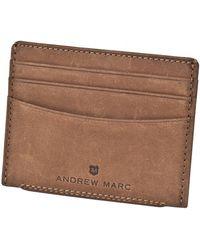 Andrew Marc - Warren Slim Cardcase - Lyst