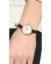 Marc By Marc Jacobs - Sally Watch - Rose Gold/Black - Lyst