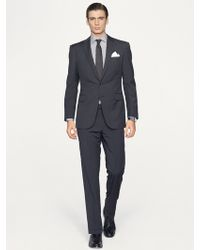 Ralph Lauren Black Label Anthony Solid Suit - Lyst