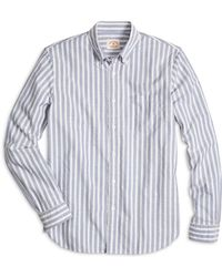 Brooks Brothers Double Stripe Sport Shirt - Lyst