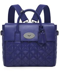 Mulberry Cara Delevingne Quilted Nappa Bag - Lyst