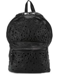 Giorgio Brato - Eyelet Perforated Backpack - Lyst
