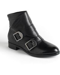Via Spiga Inali Leather Ankle Boots - Lyst