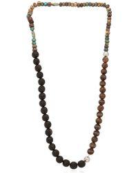 Luis Morais - Multi Lotus Beaded Necklace - Lyst