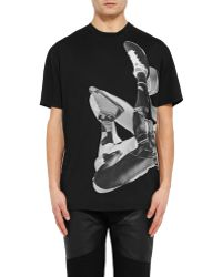 Givenchy Photographic-Print Cotton-Jersey T-Shirt - Lyst
