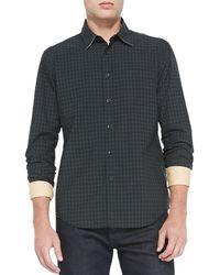 Rag & Bone Yokohama Check Longsleeve Shirt - Lyst