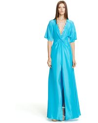 Ralph Lauren Black Label Silk Bevanne Dress - Lyst