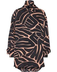 Issa Jenny Printed Silk-georgette Blouse - Lyst