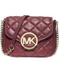 Michael Kors Michael Fulton Small Quilted Crossbody - Lyst