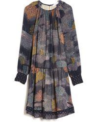 See By Chloé | Mix Print Dress | Lyst
