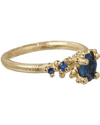 Ruth Tomlinson - Gold Sapphire Ring - Lyst