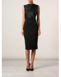 Jason Wu Embellished Fitted Dress - Lyst