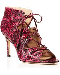 Via Spiga - Caged Sandals - Vibe High Heel - Lyst