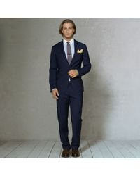 Polo Ralph Lauren Customfit Chalkstriped Suit - Lyst