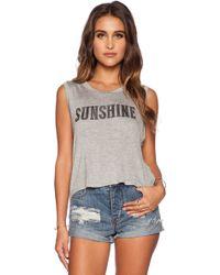 Daydreamer Sunshine Muscle Tank Top - Lyst
