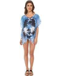 Seafolly Inked Stripe Odyssey Top Cover-Up - Lyst