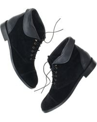 Madewell The Suede Backroads Bootie - Lyst