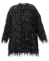 Lanvin Feathered Top - Lyst