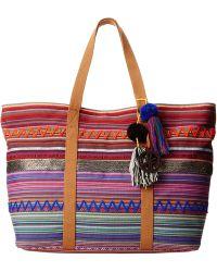 Sam Edelman Tara Tribal E/W Tote multicolor - Lyst
