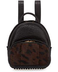 Alexander Wang Dumbo Calf Hair Backpack - Lyst