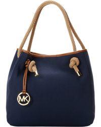 MICHAEL Michael Kors Marina Large Grab Bag - Lyst