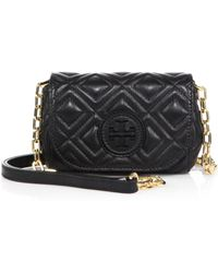 Tory Burch Marion Quilted Crossbody Bag - Lyst