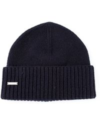 DSquared2 Ribbed Hat - Lyst