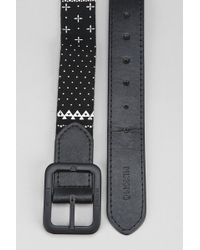 Nixon Black Faction Reverse Web Belt - Lyst