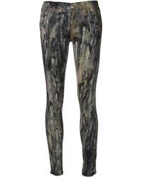 Koral Printed Skinny Jeans - Lyst