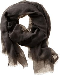 Banana Republic Rina Scarf Pepper Grey - Lyst