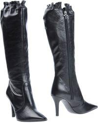 Enrico Lugani Boots black - Lyst