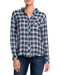Rails Hunter Plaid Button Down - Lyst