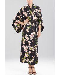 Natori   floral Blossom Robe   Lyst