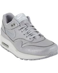Nike Air Max 1 Cutout Premium Sneakers - Lyst