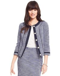 Tommy Hilfiger Stripe Jacket - Lyst