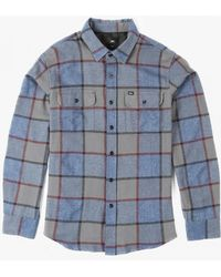Obey   Belmont L/s Shirt   Lyst