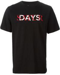 Saturdays Surf NYC Logo Print T-Shirt - Lyst
