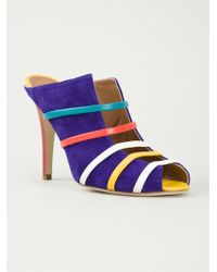 Malone Souliers Stiletto Mules - Lyst