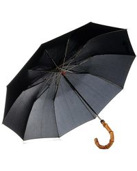 London Undercover - Whangee-Cane Crook Collapsible Umbrella - Lyst