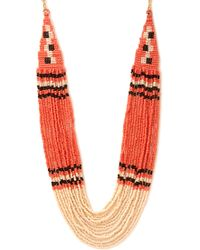 Forever 21 Beaded And Beautiful Necklace - Lyst