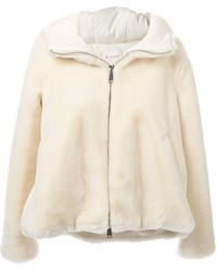 Dondup Zip Coat - Lyst