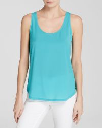 French Connection Tank - Classic Polly Plains - Lyst