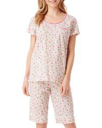 Carole Hochman - Beauty Print Bermuda Pyjama Set - Lyst