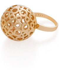 Trina Turk - Dome Open Work Ring - Lyst