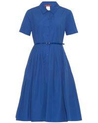 Max Mara Studio Calmi Dress blue - Lyst